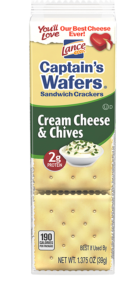 Captain's Wafers Cream Cheese & Chives Copy Copy