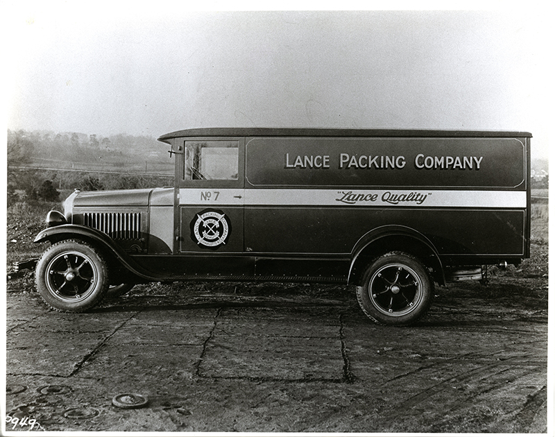 Lance Packing Company Truck