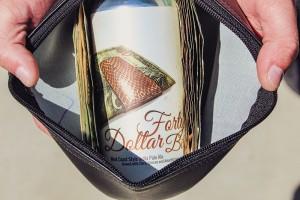 Forty Dollar Bill Bank Bag