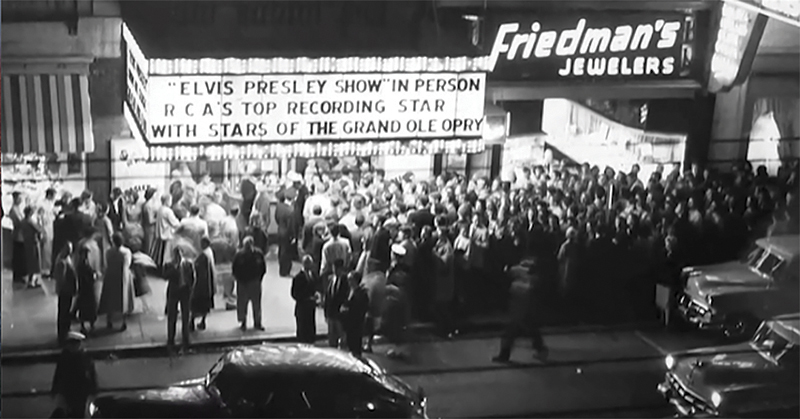 Elvis Marquee