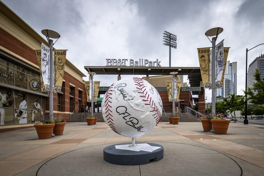 BB&T Ballpark Cool Globes Charlotte
