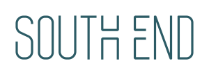 South End Logo Darkcyan Caroline Bounds