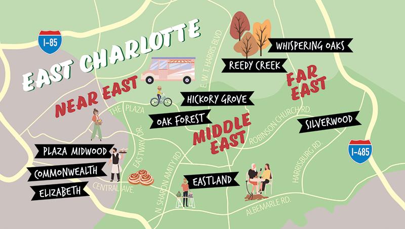 New Eastside Map Path