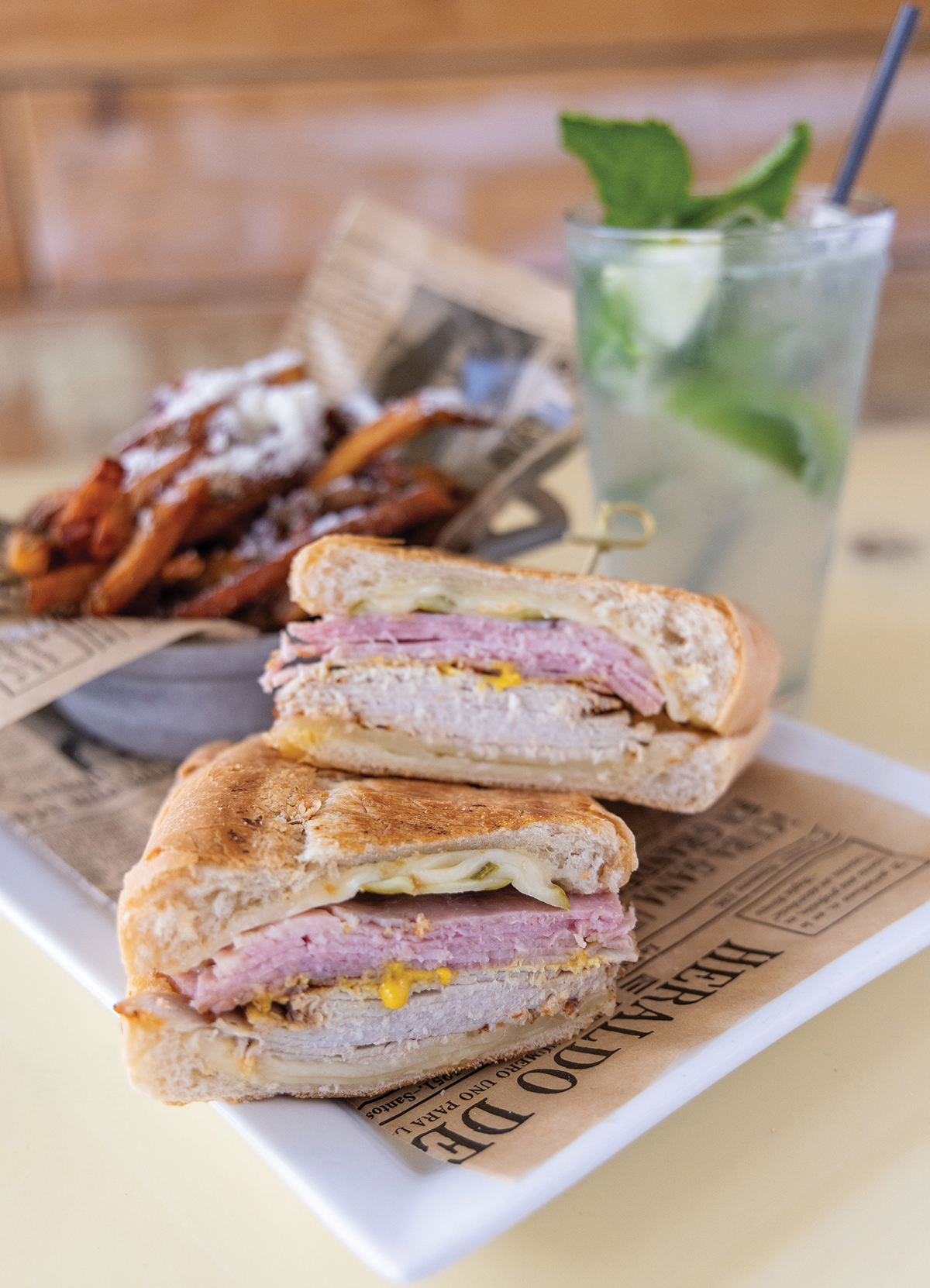 Mooresville, Nc February 10th 2021 Havana 33 Cuban Eggrolls With Honey Mustard Dip Four Cheese And Gravy Fries, Smothered In Gravy, Cheese Sauce, And Bacon Sandwich Cubano (classic Cuban Sandwich) The Ropa Vieja: Shredded Beef, Onions, Peppers, And