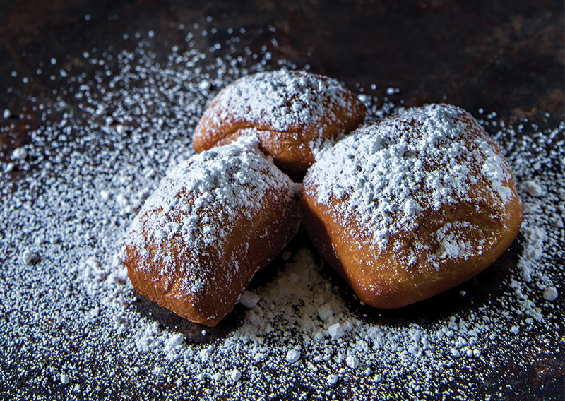 Beignets From Cafe Monte Photographed On May 18th, 2016. (photo By Petertaylor)