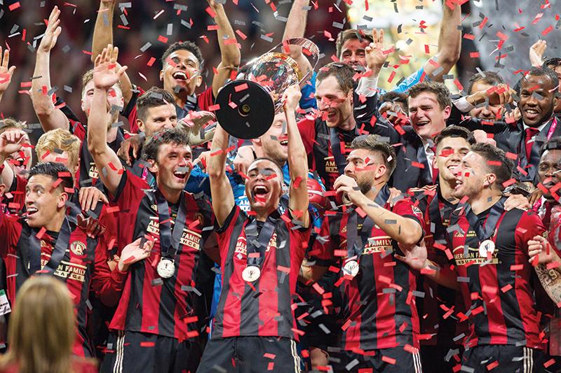 Atlanta,united,celebration, ,mls,championship, ,atlanta,united,fc